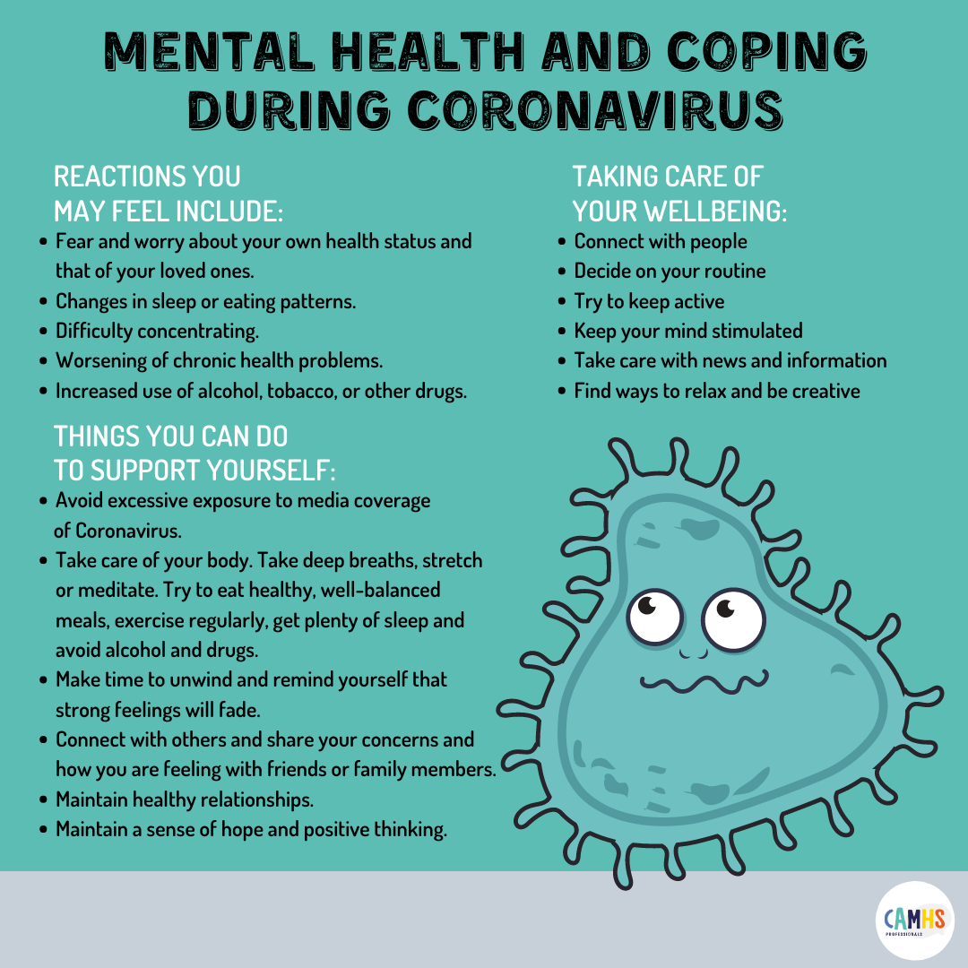 Mental Health And Coping During Coronavirus