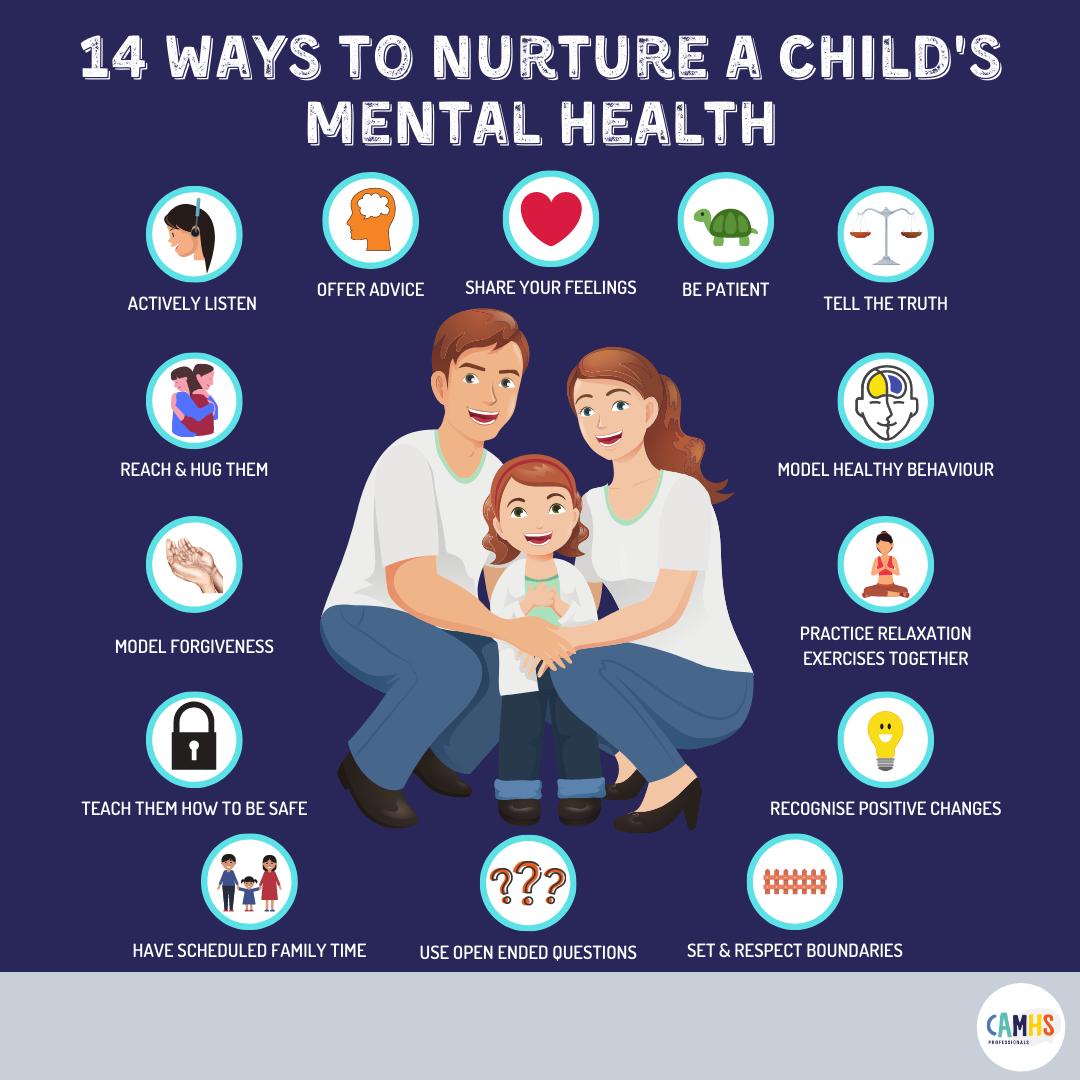 14 Ways To Nurture A Child's Mental Health